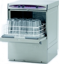 maidaid halcyon c350 glasswasher with door open