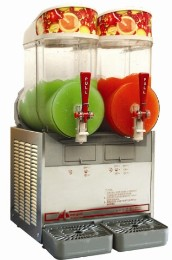 double bowl slush machine