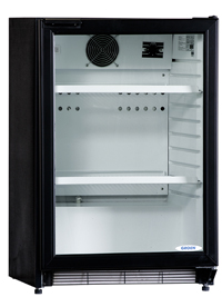 Prodis Top20B Black Single Door Hinged Bottle Cool