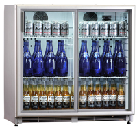 Prodis Top25SH Stainless Steel Door Bottle Coolers